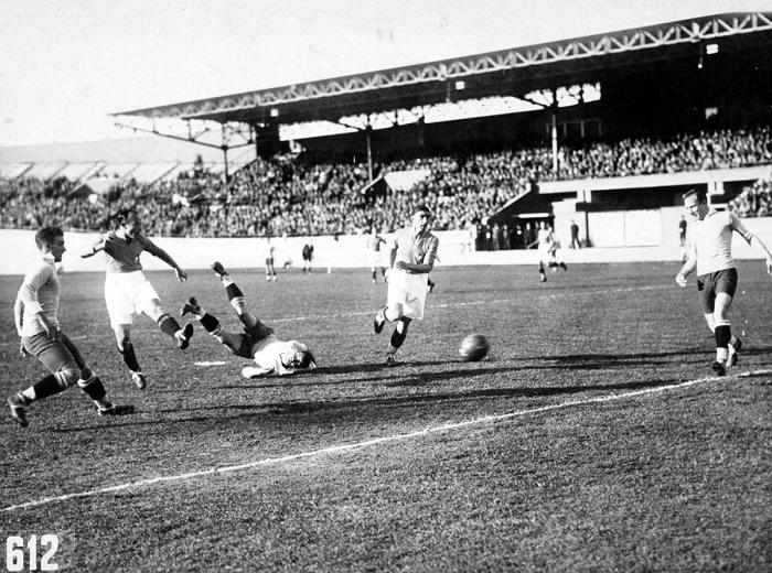 Italia 2-3 Uruguay (1928) - AUF