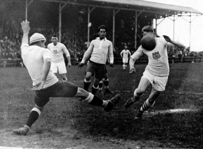 Image result for uruguay vs estados unidos olimpiadas 1924